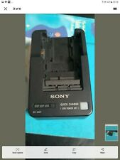 Sony 100% Genuine BC-QM1 Quick Battery Charger for V, W, M, H, P Series Battery