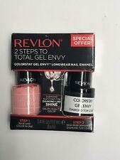 Revlon 2 Steps Colorstay Gel Envy Longwear Nail Enamel Cardshark 790