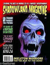 SHADOWLAND Magazine #10: SKELETON WARRIORS Nightmare on Elm Street ULTRAMAN New!