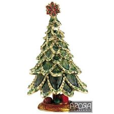 Craycombe Trinkets 6025 - Christmas Tree Trinket Box  NEW  20608