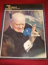 SUNDAY TIMES MAGAZINE - CHURCHILL - 1962