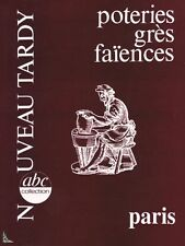Pottery Sandstone Faience - Th. Deck Paris, Tardy