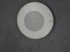"""Quam SOUND 8"""" DUAL CONE LOUDSPEAKER CEILING FLUSH MOUNT WHITE speaker"""