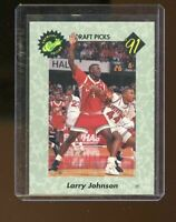 1991 Classic Draft Picks #1 Larry Johnson UNLV Rebels Rookie Card