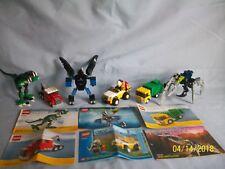 Lego Set 20001 Batbot BRICKMASTER 20002 20003 Dinosaur 20008 20011 20012 100%