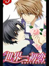 Junjou Romantica Japan Anime Yaoi Sekai Ichi Hatsukoi Poster RARE