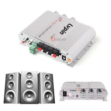 Lvpin 200W 12V Mini Hi-Fi Car Home Stereo Amplifier Amp Booster Radio MP3 US
