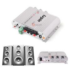 Lvpin 200W 12V Mini Hi-Fi Car Home Stereo Amplifier Amp Booster Radio MP3 US