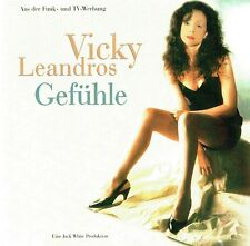 (CD) Vicky Leandros - Gefühle - Günther Gestehe, Manolito, Liebe (1997)