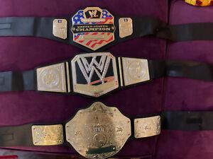 2010 Mattel WWE World Heavyweight Championship Wrestling Belt Kids Usa Universal