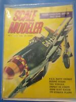 3 Lot Vintage Scale Modeler Magazines, Vol.#1, issues #1-3, 1965,66.