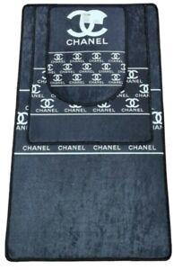 Chanel 3 Pc Bathroom Decor