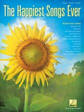 The Happiest Songs Ever Sheet Music Piano Vocal Guitar SongBook NEW 000145879