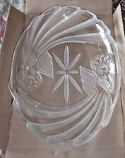"""Gorham Holiday Traditions ANGELS OF PEACE Oval Server/Platter-16 1/2""""  x11 1/4"""""""