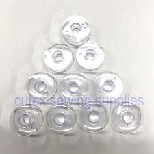 10 Plastic Bobbins #395710-07 For Babylock, Elna, Kenmore, Viking Sewing Machine