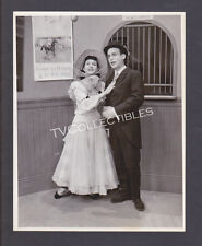 7x9 Photo~ TVs GARROWAY AT LARGE ~1949-51 ~Connie Russell ~Cliff Norton