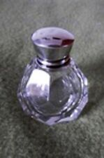 E F BRAHAM Silver Top Perfume Bottle with Cork 1912 – 1913