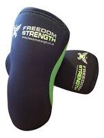 PAR Rodillera 7mm para crossfit strongman levantamiento pesas