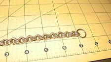 Chain Toggle Bracelet Old Pawn Sterling