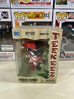 Harley Quinn Teekeez DC Comics Stackable Vinyl Tiki Figure NIB