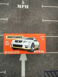 MATCHBOX 2008 HOLDEN VE UTE SSV 1/64 DIECAST CAR NEW
