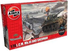 Airfix A03301 1/76 Plastic LCM MKIII Landing Craft and Sherman