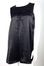 Kurze unifarbene Damenkleider mit Rundhals-Ausschnitt