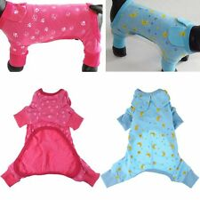 Clothing For Dogs Pet Puppy Dog Clothes Winter Warm Cotton Dog Pajamas Jumpsuit
