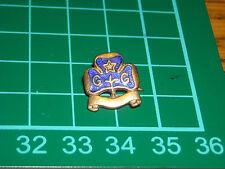 girl scout  boy scout vecchio stemma pin spilla distintivo girl guides .