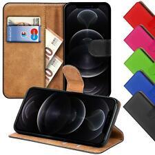 Schutzhülle Für Apple iPhone Handy Tasche Slim Flip Case Book Cover Wallet Etui
