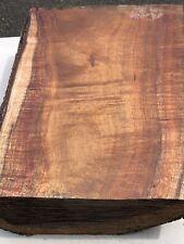 Reclaimed Wax Sealed Ready To Turn Hawaiian Curly Koa Wood 10.5�x7.5�x3�