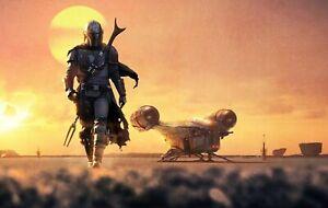 "The Mandalorian ( 11""x 17"") Movie Collector's Poster Print DISNEY STAR WARS"