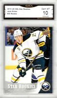 GMA 10 Gem Mint JACK EICHEL 2015/16 UD Upper Deck STAR ROOKIE Card  SABRES!
