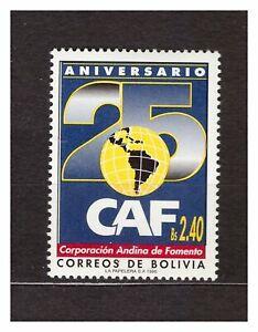 Bolivien 1995 MNH Caf 1v 37189