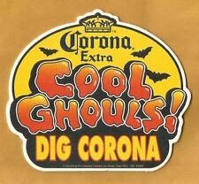 16 Corona Cool Ghouls! Dig Corona  Beer Coasters Halloween Theme