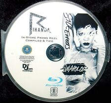 Rihanna In-Store Promo Reel Tied 42 Music Videos BLU-RAY DVD FREE SHIPPING