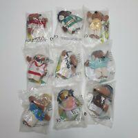 Unopened Wombles McDonalds Toys - Set of 9 Original Happy Meal Toys 1999 Tomsk