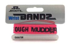 New Tough Mudder Challenge Wrist Bandz by Skootz Neon Pink Child Size Small Band