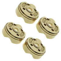 2/4pcs Brass Portal Steering Cup Housing for 1:10 Axial SCX10 III RC Car Truck