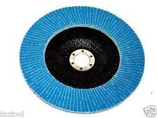 "10 PC 4-1/2"" x 7/8"" 40 GRIT Premium Zirconia Flap Disc Grinding Wheel Sandpaper"