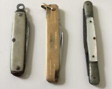 Lot Of 3 Vintage Penknives