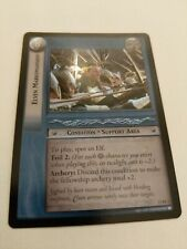 LOTR: Elven Marksmanship Foil near mint Shadows Lord of the Rings TCG