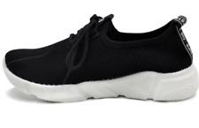 Tanggo Fashion Mesh Sneakers Shoes for Women 1006 (black)