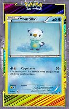 Moustillon - N&B: Noir et Blanc - 28/114 - Carte Pokemon Neuve Française