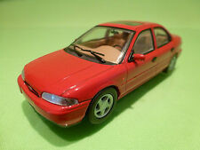 MINICHAMPS 82000 FORD MONDEO 4-DOORS - RED 1:43 - EXCELLENT CONDITION
