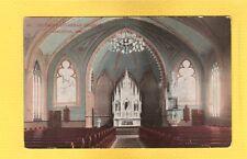 Appleton,WI Wisconsin St Paul's Lutheran Church, interior used 1913