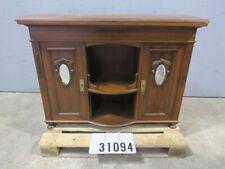 Alte Antike Holz Kommode Sideboard Highboard Schrank Anrichte #31094
