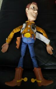 Fabulous vintage talking Woody doll from Toy Story great working order