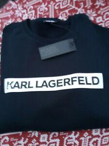 Karl Lagerfeld Sweatshirt Sweat Crewneck Gr.XXL,d.blau ORIGINAL Neu