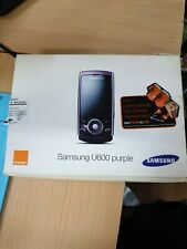 Samsung SGH U600 - Purple  (Unlocked) Mobile Phone. Brand new.